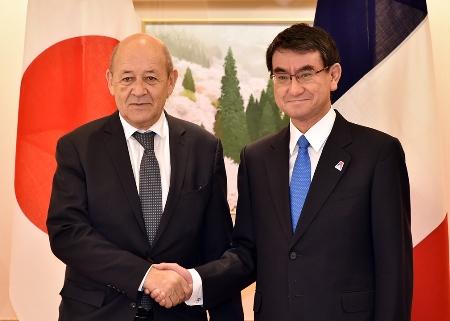 第7回日仏外相戦略対話(平成30年1月27日)